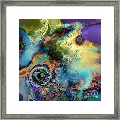 Birth Of A Star Framed Print