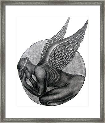 Birth Of An Angel Framed Print by Patrick Carrington