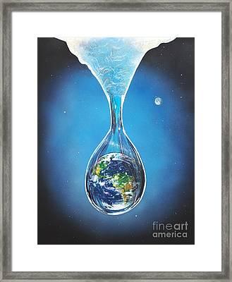 Birth Of Earth Framed Print