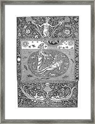 Birth Of Eve Framed Print