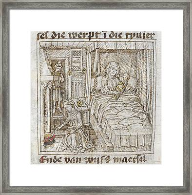 Birth Of Moses Framed Print