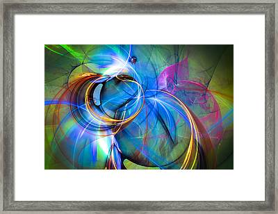 Birth Of The Butterfly Framed Print
