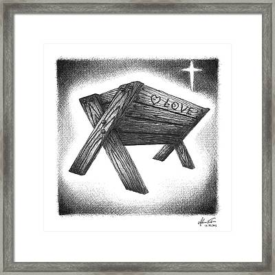 Birth Of The Messiah Framed Print