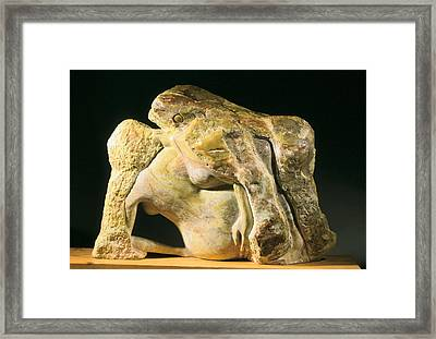 Birth Of The Universe Framed Print by Manuel Abascal
