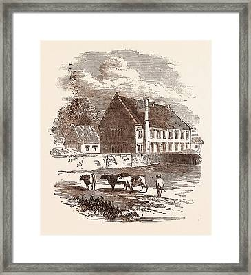 Birth Place Of The Great Duke Of Marlborough Framed Print