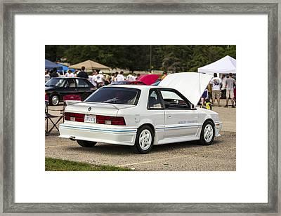 Birthday Car 06 Framed Print
