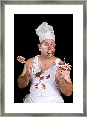 Birthday Chef Framed Print
