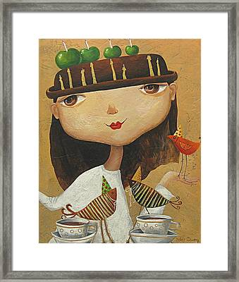 Birthday Girl Framed Print