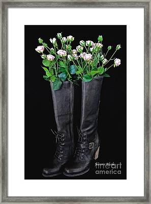 Birthday Wishes Framed Print by Jeannie Rhode