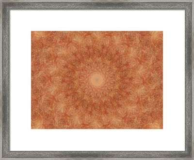 Birthing Mandala 12 Framed Print