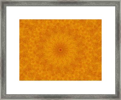 Birthing Mandala 14 Framed Print