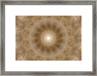 Birthing Mandala 9 Framed Print
