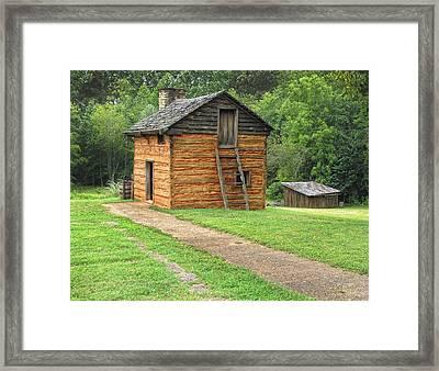 Birthplace Of Booker T Washington Framed Print