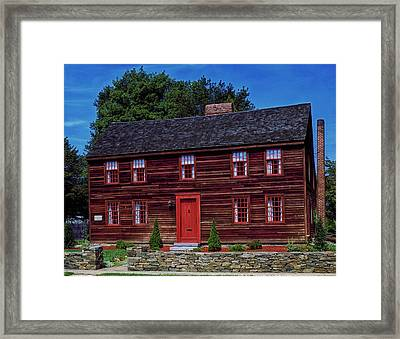 Birthplace Of Yale University Framed Print by Mountain Dreams