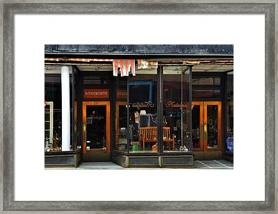 Bisbee Arizona Store Front Framed Print by Dave Dilli
