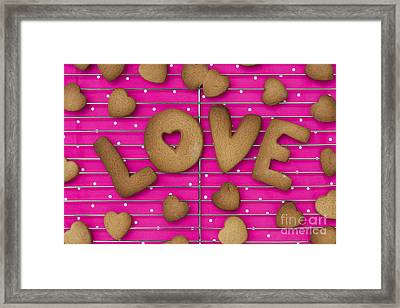Biscuit Love Framed Print by Tim Gainey