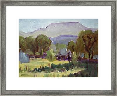 Bishop State Park Framed Print