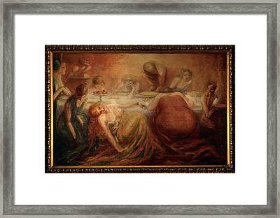 Bisi Fabbri Adriana, The Capital Vices Framed Print