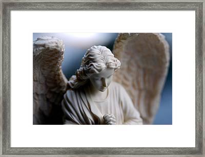 Bisque Angel Framed Print by Glenn McGloughlin