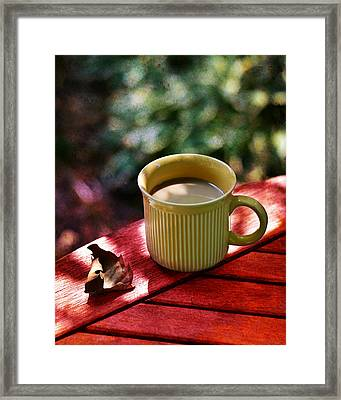 Bistro Cafe' Framed Print