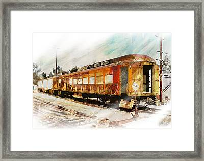 Bit Of Rust Framed Print by Robert Ball