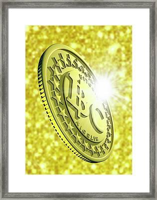 Bitcoin Framed Print
