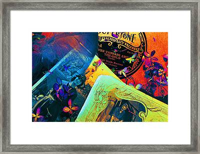 Bits And Pieces... Framed Print