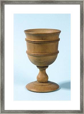 Bitters Cup Framed Print by Science Photo Library