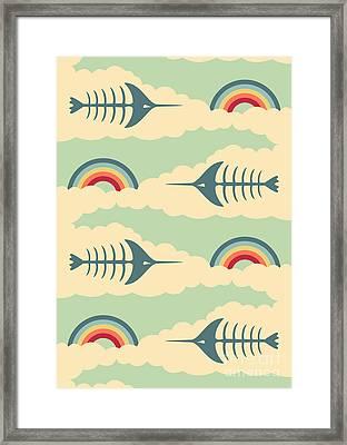 Bittersweet - Pattern Framed Print by Freshinkstain