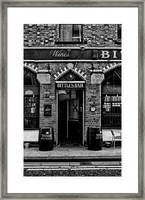 Bittles Bar Framed Print
