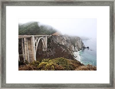 Bixby Bridge II Framed Print by Jenna Szerlag
