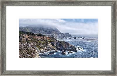 Bixby Bridge - Large Print Framed Print by Anthony Citro