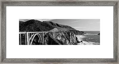 Bixby Creek Bridge, Big Sur Framed Print