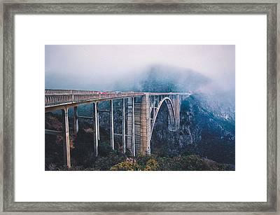 Bixby Creek Bridge Framed Print