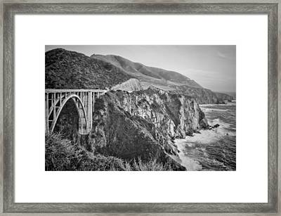 Bixby Overlook Framed Print by Heather Applegate