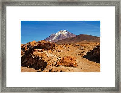 Bizarre Landscape Bolivia Select Focus Framed Print by For Ninety One Days