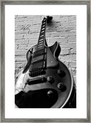 Black And Blues Framed Print by Allen Gresham