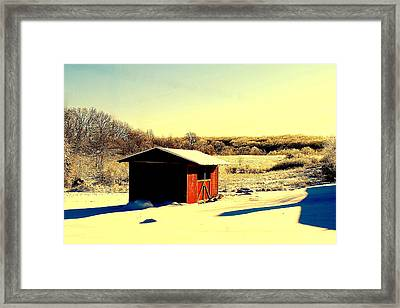 Black And Color Framed Print by Frozen in Time Fine Art Photography