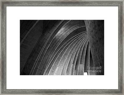 Black And White Arches Framed Print