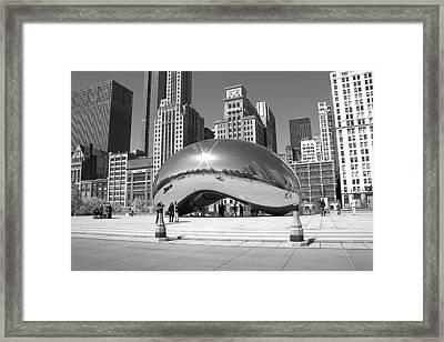 Chicago - The Bean Framed Print
