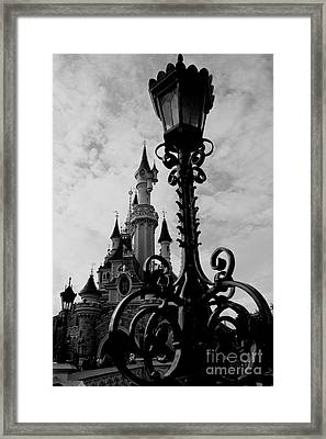 Black And White Fairy Tale Framed Print