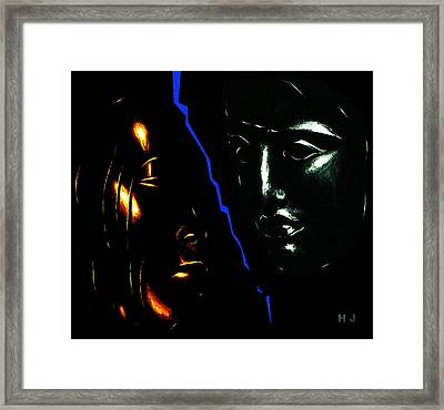 Black  And White Framed Print by Hartmut Jager