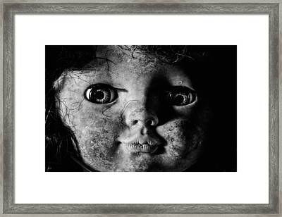 Black And White Is So Artsy  Framed Print by JC Findley
