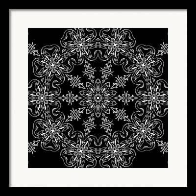 Rotation Mixed Media Framed Prints