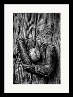Black Gloves Framed Prints