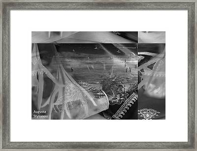 Black And White Moments Framed Print by Augusta Stylianou