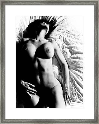 Black And White Perfection Framed Print by Jt PhotoDesign