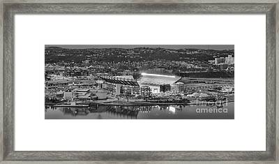 Black And White Reflections On The North Shore Framed Print by Adam Jewell