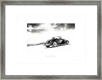 Black And White Salt Metal Framed Print