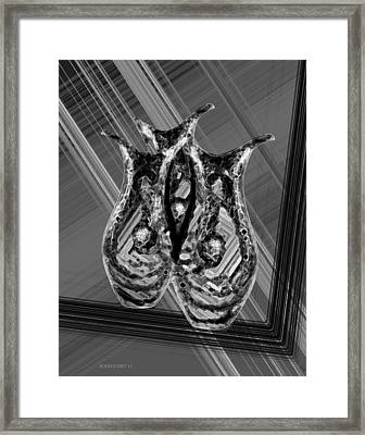 Black And White Still Life Framed Print by Mario Perez
